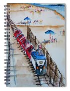 Pt Pleasant Nj Sand Train Spiral Notebook