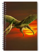 Pterodactyl Spiral Notebook
