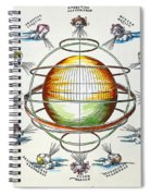 Ptolemaic Universe, 1525 Spiral Notebook