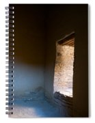 Pueblo Bonito Interior Window Detail Spiral Notebook