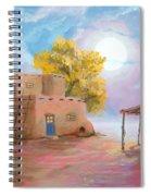 Pueblo De Las Lunas Spiral Notebook