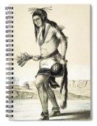 Pueblo Zuni Buffalo Dance, 1850s Spiral Notebook