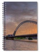 Puente De Lusitania II Spiral Notebook