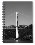 Puente II Bw Spiral Notebook