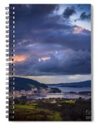 Puentedeume From Cabria Noguerosa Galicia Spain Spiral Notebook