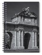 Puerta De Alcala Spiral Notebook