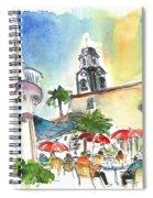 Puerto De La Cruz 01 Spiral Notebook