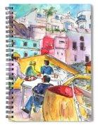 Puerto De Sardina 01 Spiral Notebook