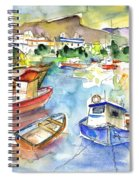 Puerto Mogan 01 Spiral Notebook