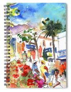 Puerto Mogan 10 Spiral Notebook
