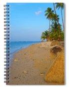 Puerto Rico Beach Spiral Notebook