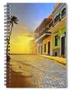 Puerto Rico Collage 2 Spiral Notebook