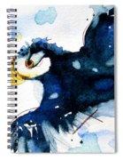 Puffin Flight Spiral Notebook