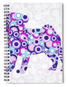 Pug - Animal Art Spiral Notebook