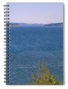 Puget Sound Panoramic Spiral Notebook