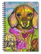 Puggle Puppy Love Spiral Notebook