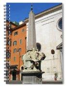 Pulcino Della Minerva Spiral Notebook