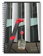 Pulley And Pail Spiral Notebook