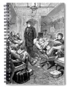 Pullman Car, 1876 Spiral Notebook