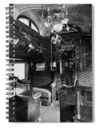 Pullman Car El Fleda Spiral Notebook