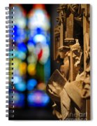 Pulpit Trinity Cathedral Pittsburgh Spiral Notebook