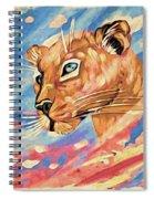 Puma On Watch Spiral Notebook