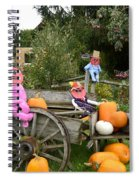 Pumpkin Heart Spiral Notebook