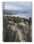 Punakaiki Pancake Rocks Spiral Notebook
