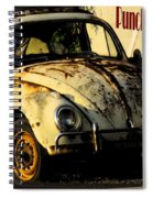 Punch Buggy Rust Spiral Notebook