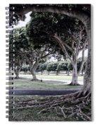 Punchbowl Cemetery - Hawaii Spiral Notebook