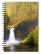 Punchbowl Pano Spiral Notebook