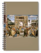 Punishment Of Korah And Dathan And Abiram Spiral Notebook