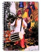 Punjabi Dhol Spiral Notebook