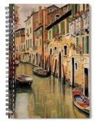 Punte Rosse A Venezia Spiral Notebook