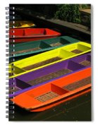 Punts For Hire Spiral Notebook