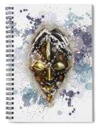 Punu Prosperity Mask Spiral Notebook