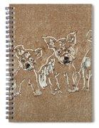 Puppy Brigade Spiral Notebook