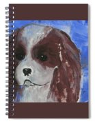 Puppy Doll Spiral Notebook