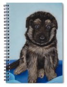 Puppy - German Shepherd Spiral Notebook