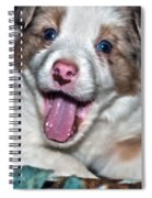 Puppy Laughter Spiral Notebook