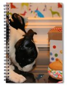 Puppy Party Spiral Notebook