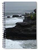 Pura Tanah Lot Bali Indonesia Spiral Notebook