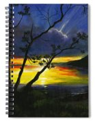 Purdy Sunset Spiral Notebook