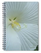 Pure And Sensual Spiral Notebook