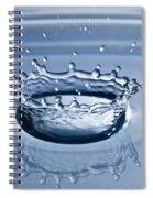 Pure Water Splash Spiral Notebook