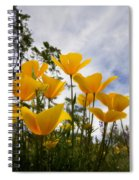 Purely Poppies  Spiral Notebook