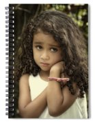 Purity Of Sadness Spiral Notebook