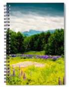 Purple And Mountains And Majesty Spiral Notebook
