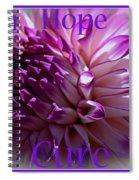 Purple Awareness Support Spiral Notebook