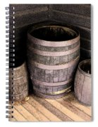 Purple Barrels Spiral Notebook
